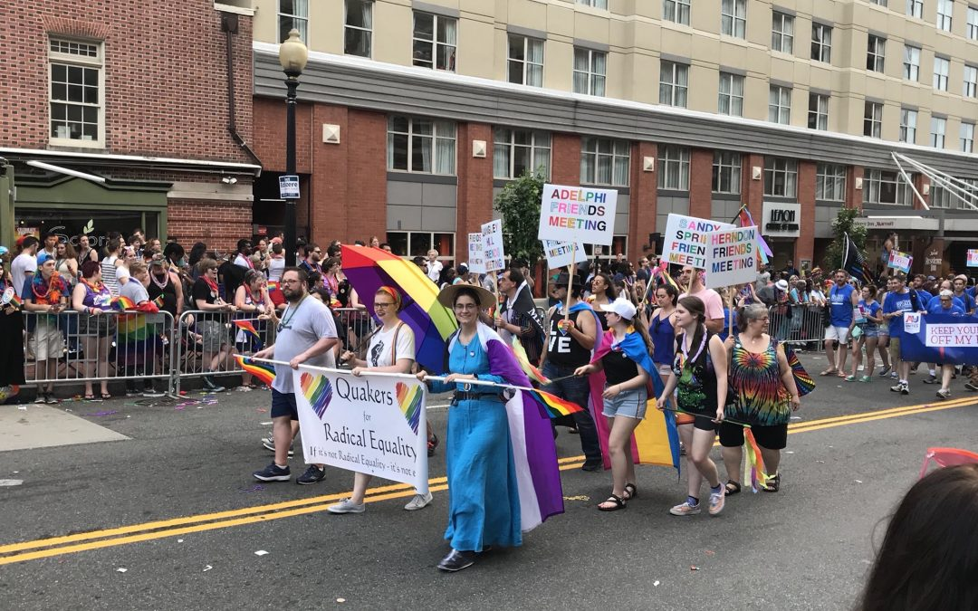 Quakers at Pride